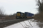 CSX 7603 is number 2 in line to wait