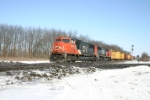 CN 5790 gets ready to rattle the diamonds