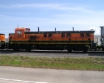 BNSF 1227 EAST BOUND INTO STRANG YARD