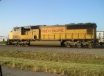 UP 4363 EAST BOUND INTO STRANG YARD