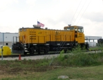 RSSX 2605 THIS IS A GG20B AT BAYPORT RAIL TERMINAL RAILSERVE