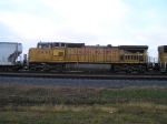 UP 9491 EAST OUT OF STRANG YARD