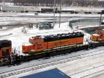 090101004 BNSF 6885 stored dead at Northtown diesel shop