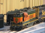 090111008 BNSF 1685 at Northtown diesel shop