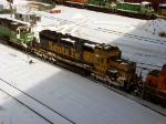 090222029 BNSF 6805 at Northtown diesel shop