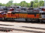 "090519017 BNSF 8225 stored in the Northtown ""T"" Yard deadline"