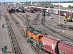 090530023 Busy receiving yard at BNSF Northtown