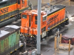 090606002 BNSF 3704 at Northtown Yard diesel shop