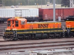 091014002 TEBC6 BNSF 258 at Northtown Yard