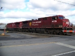 Canadian Pacific 9778 and 8703