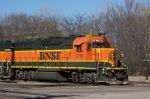BNSF 2795 leads BNSF transfer to NS past 32nd st