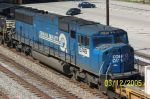Closeup of ex Conrail unit