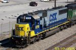 Closeup of CSX 8790...looked like new paint job.