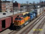 For us Auburn fans... orange and blue leads NS train 21k