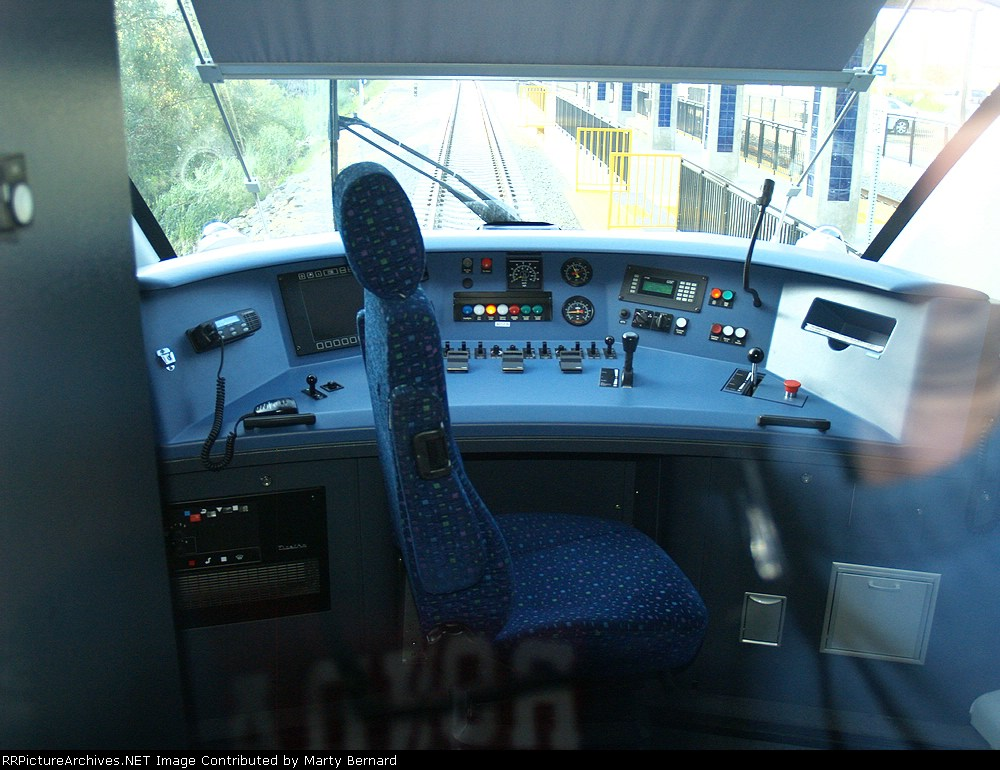 Cab of Sprinter 4012A (the A car of the married pair)