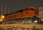 Wedged BNSF 525