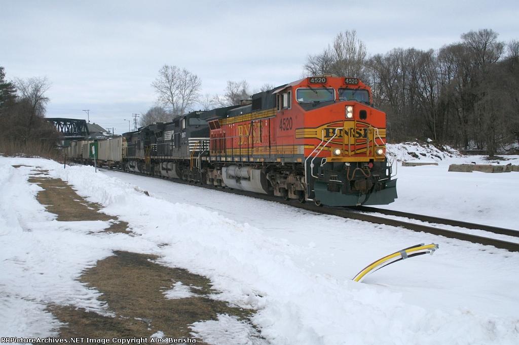 BNSF 4520 214