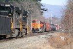 BNSF 5107 38G/NS 8934 HA13