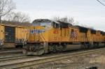 2 Union Pacific SD70M's working at Allentown Yard