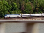 The Ethan Allen Express As Seen From The Tappan Zee Bridge