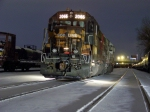 A pair of GP40's is the CP local power in La Crosse