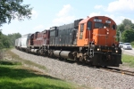DFT-14 leans into a curve headed for Hornell on the Southern Tier