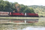 A WNYP train heads east toward Hornell,NY