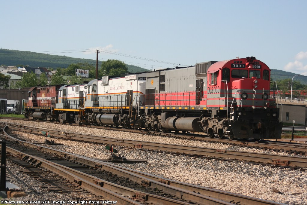An interesting mix of ALCO products tied down at Bridge 60.