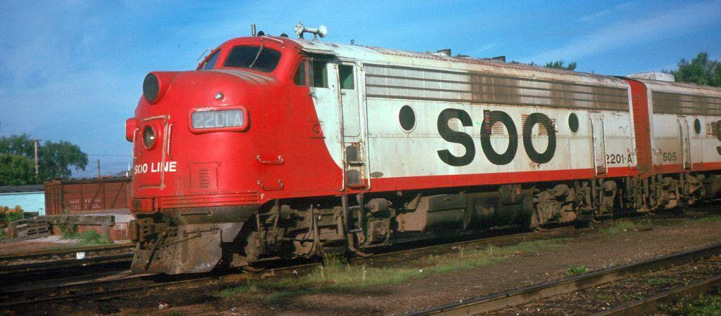 SOO 2201A Marshfield Wis 1975