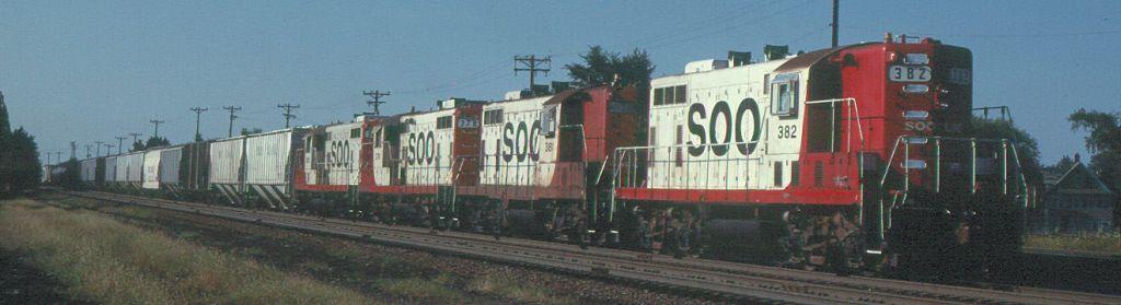 SOO 382 Minn MN 1983