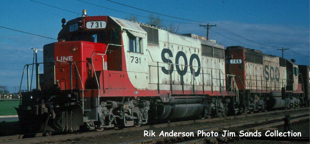 SOO 731 Minn,MN 1979