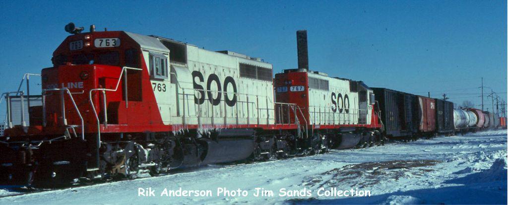 SOO 763 St. Paul, MN 1985