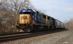 CSX Q632 with twin SD50s