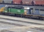 BNSF 7052