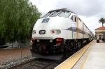 Metrolink MP36 897 Pushing Train 363