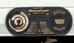 Metrolink 890's ID plate
