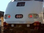 Metrolink 891's Numberboard