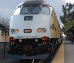 Metrolink 891 Highballing Claremont