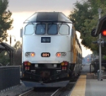 Metrolink 891 heading into the sunset