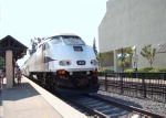 Metrolink 901 preparing to highball Claremont