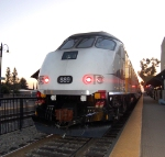 Metrolink engine #889