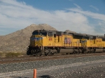 UP 4180 leads an EB doublestack IMQLA at 2:15pm