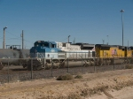 UP 4141 leads IMNLB through the Alfalfa yard in El Paso at 2:10pm