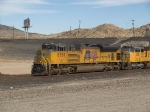 UP 8558 leads a WB IBCLBX-24 at 3:18pm