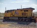 UP 7689 rear DPU in a WB doublestack at 12:18pm