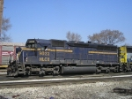 HLCX 9023 On CSX J 783 South Out Of New River Yard