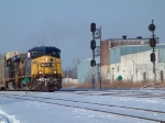 CSX on a Cold Day