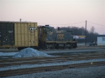 CSX 1100 returning home for the night