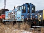 Conrail 9187 / Pocono Northeast 87