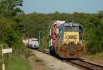 CSXT A784/James Strates Carnival Train
